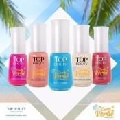 Swatches Coleção Na Onda do Verão Esmaltes Top Beauty