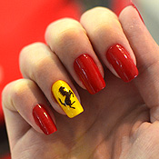 Unhas Decoradas – Ferrari