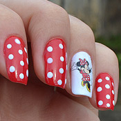 Unhas Decoradas – Minnie