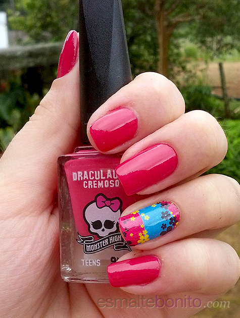 Esmalte Draculaura Monster High