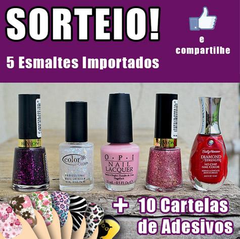 Sorteio Blog Esmalte Bonito