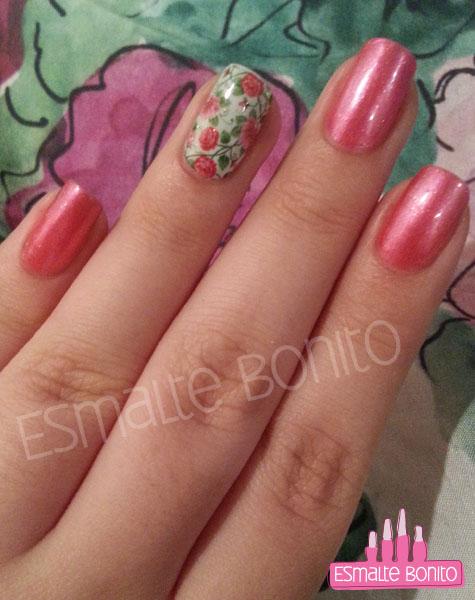 Adesivo de Florzinhas Rosas