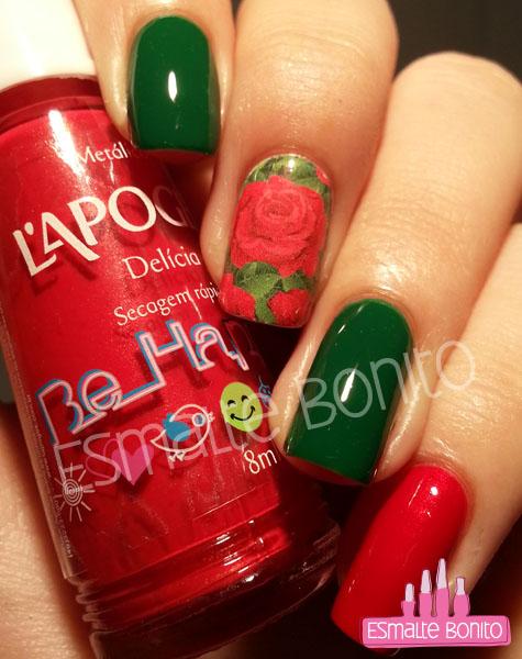 Adesivo de Rosas Vermelhas