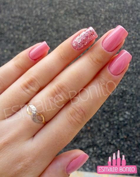 Misturinha Rosa e Anelar com Glitter