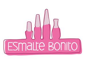 Logomarca Esmalte Bonito
