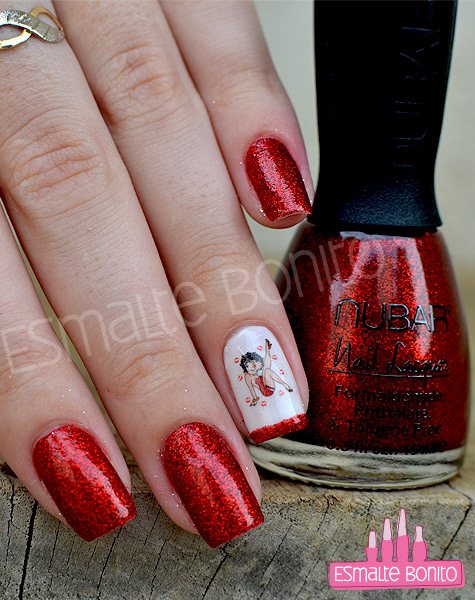 Unhas Decoradas Betty Boop