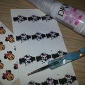 Como Usar os Adesivos Esmalte Bonito Sobre Esmaltes Coloridos – Método do Esmalte Branco