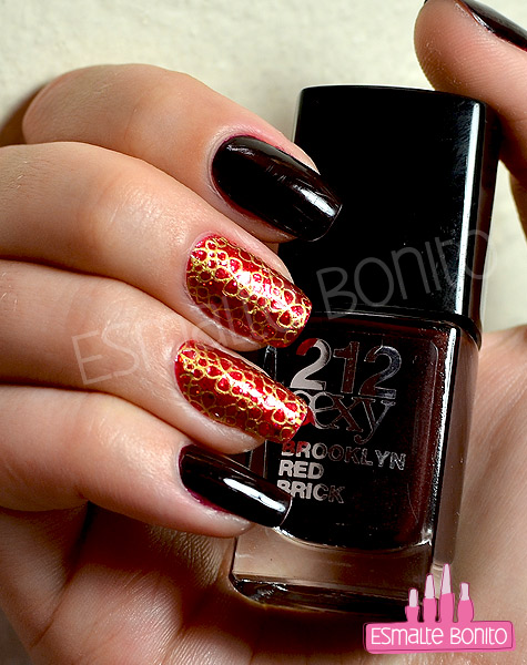 Esmalte Brooklyn Red Brick 212 Sexy