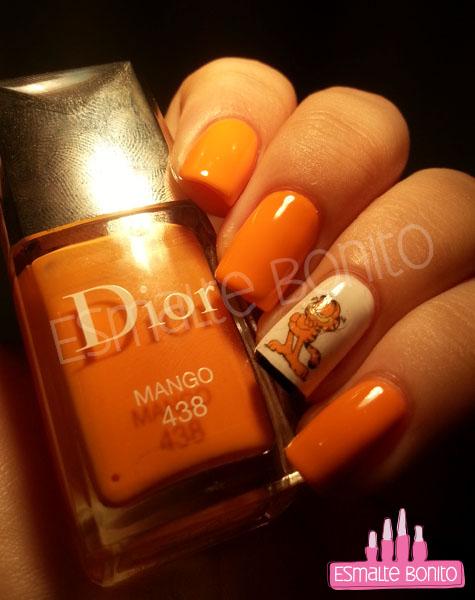 Adesivo do Garfield + Inglesinha + Dior Mango