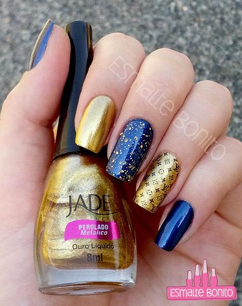 Esmalte Ouro Líquido Jade