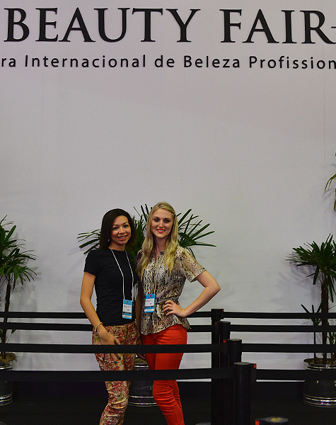 Brenda e Greice - Beauty Fair 2013