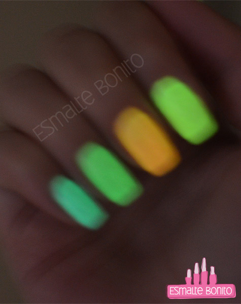 Esmaltes Glow In The Dark