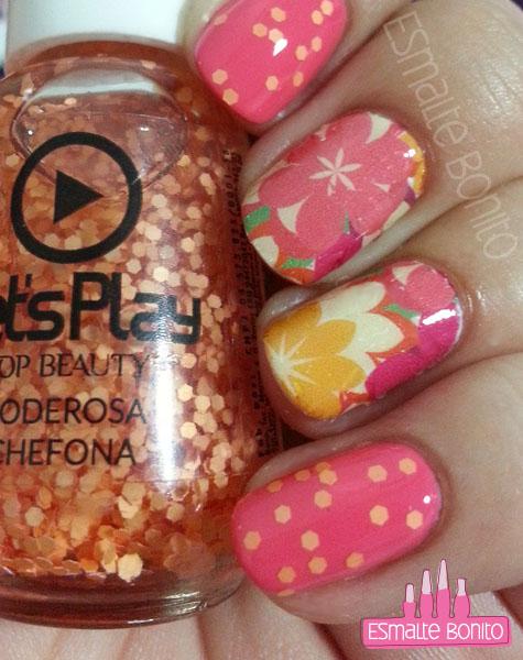Adesivo de Flores Grances + Chefona Poderosa, Top Beauty