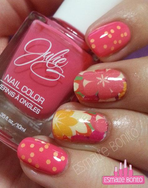 Adesivo de Flores Grandes + Julie's Fave, JulieG