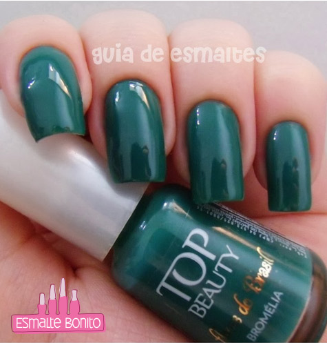 Esmalte Bromélia Flores do Brasil Top Beauty