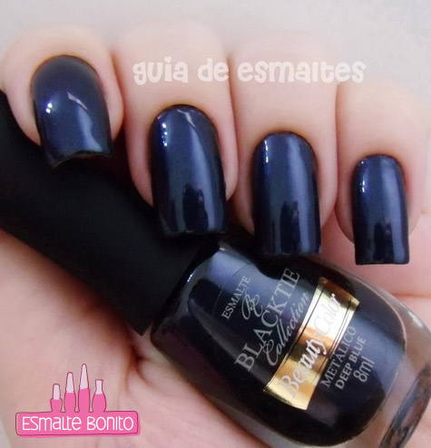 Esmalte Deep Blue Beauty Color