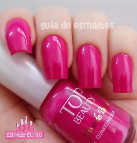 Esmalte Quaresmeira Flores do Brasil Top Beauty