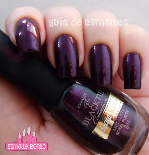 Esmalte Royal Purple Beauty Color