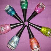 Swatches Coleção Rainbow Effect Jade