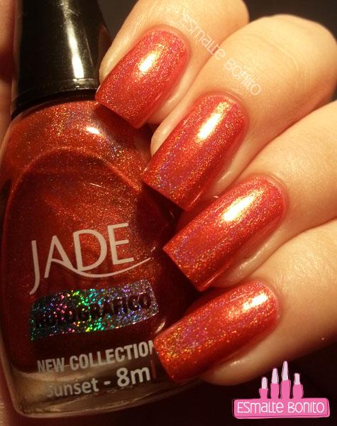 Sunset - Jade (sob iluminação artificial)