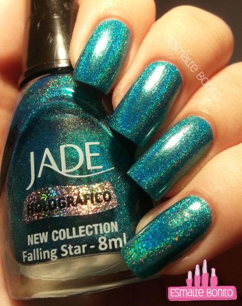 Falling Star - Jade (sob iluminação artificial)