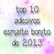 Top 10 Adesivos de Unha 2013