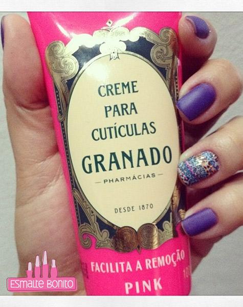 Adesivo de Unha Oncinha Verão + Creme para Cutículas Granado