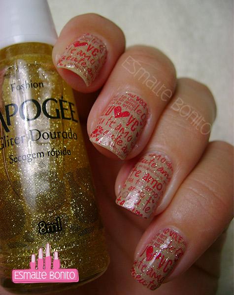 Glitter Dourado L'apogée