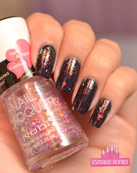 Esmalte Purple Jumbo Glitter - Nabi
