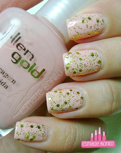 Esmalte Suas Mãos Ellen Gold
