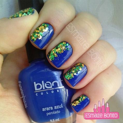 Esmalte Arara Azul Blant Colors