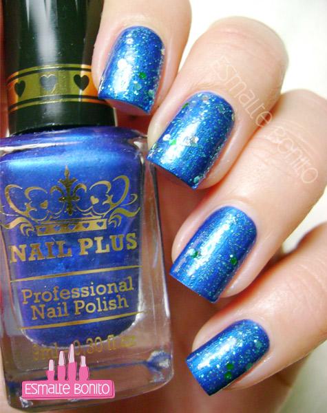 Esmalte Blue Sky Nail Plus + Radiant Revlon