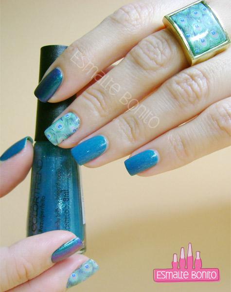 Esmalte Azul Perfeito Avon