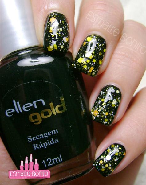 Esmalte Black Ellen Gold