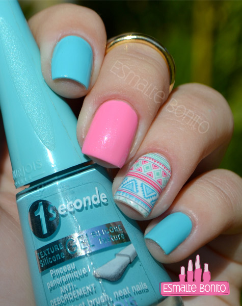 Esmalte Blue no Blues Bourjois 1 Second