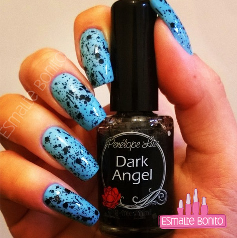 Esmalte Dark Angel Penélope Luz