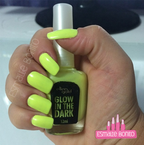 Esmalte Yellow Lemon Ellen Gold