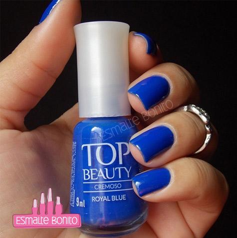 Esmalte Royal Blue Top Beauty