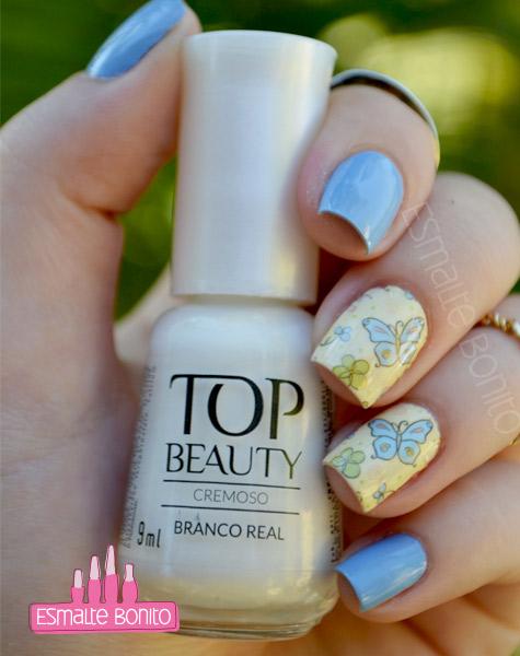 Esmalte Branco Real Top Beauty
