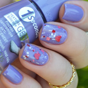 Lavanda Esquisse Bourjois + Peace and Love Penélope Luz