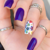 Adesivo de Florzinhas Coloridas