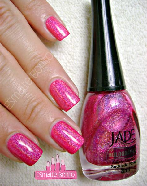 Esmalte Sedução Rosa Jade