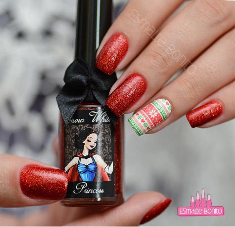 EDK Snow White + Adesivo de Unha