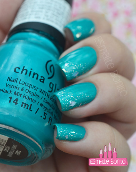 Esmalte Turned Up Turquoise China Glaze