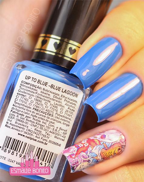 Esmalte Blue Lagoon Nail Plus