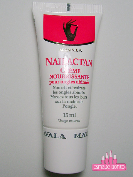Nutritive Nail Cream Nailactan Mavala