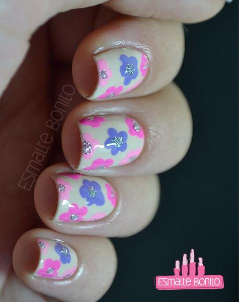 Nail Art Florzinhas