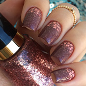 Esmalte Vult Determinada + Degradê com Glitter