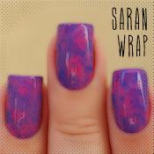 Saran Wrap com esmaltes Preta Gil