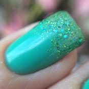 Ombré Nails com Glitter Robin – EDK